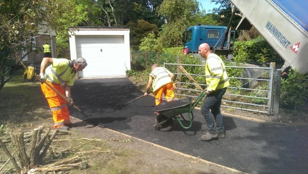 Driveway resurfacing in Poole
