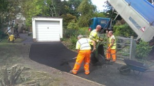 asphalt driveway resurfacing in Poole, Dorset