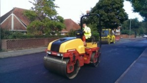 road resurfacing Dorset